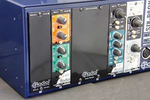 Radial Solo and Duo filler panels