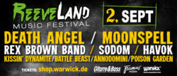 ReeveLand Music Festival 2017 – with Kissin' Dynamite