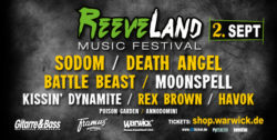 Countdown to ReeveLand Music Festival 2017