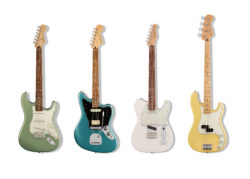 Fender introduces new Player Series electric guitars