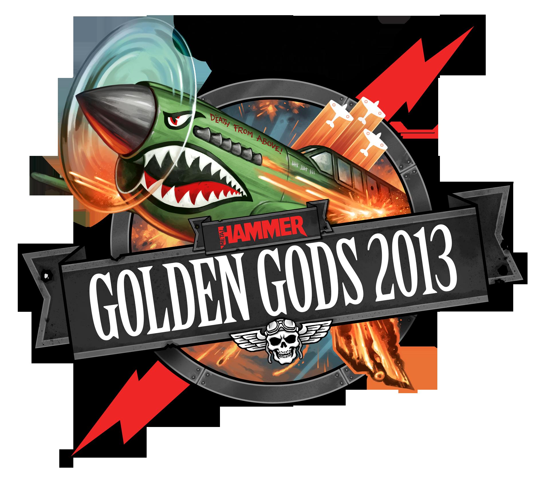 2013 Golden Gods logo