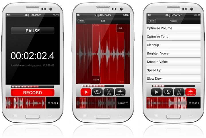 iRig Recorder for Android