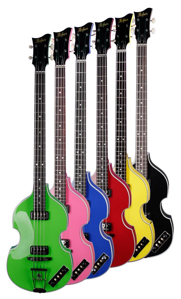 Hofner Gold Label Violin Basses