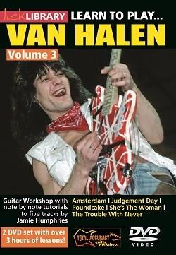 Learn to play Van Halen 3