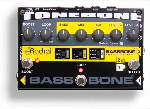 Radial Tonebone Bassbone V2