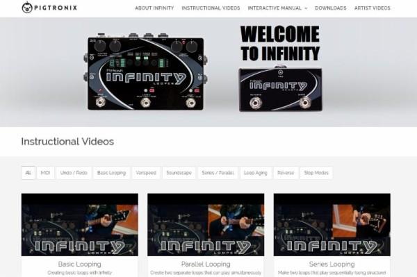Infinity Web Site