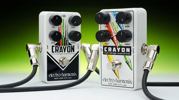 EHX Crayon Full-Range Overdrive