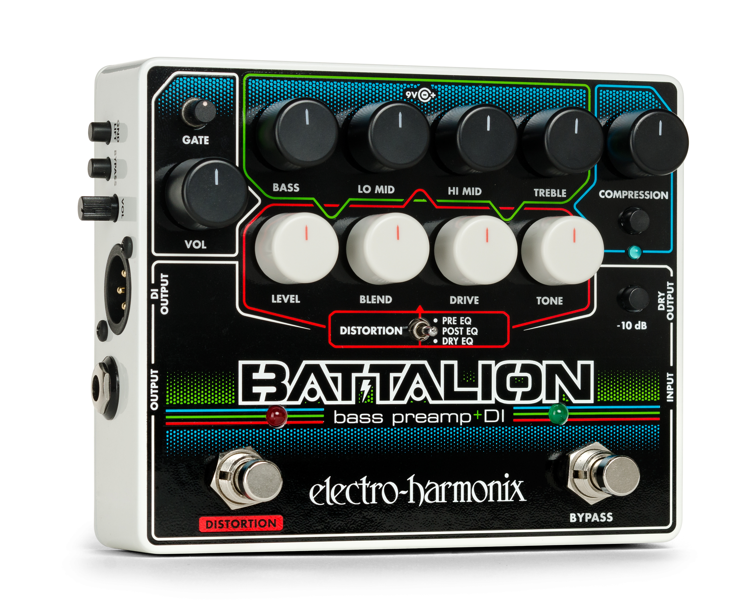 The Battalion Bass Preamp and DI