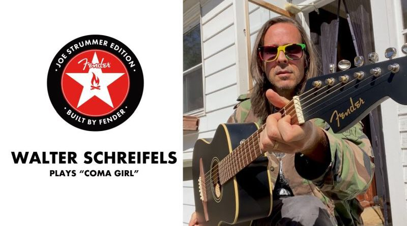 "Walter Schreifels Covers ""Coma Girl"" photo. Youtube - Fender"