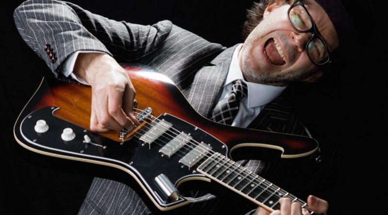 Guitarist Paul Gilbert, March 2021, image credit: Jason Quigley