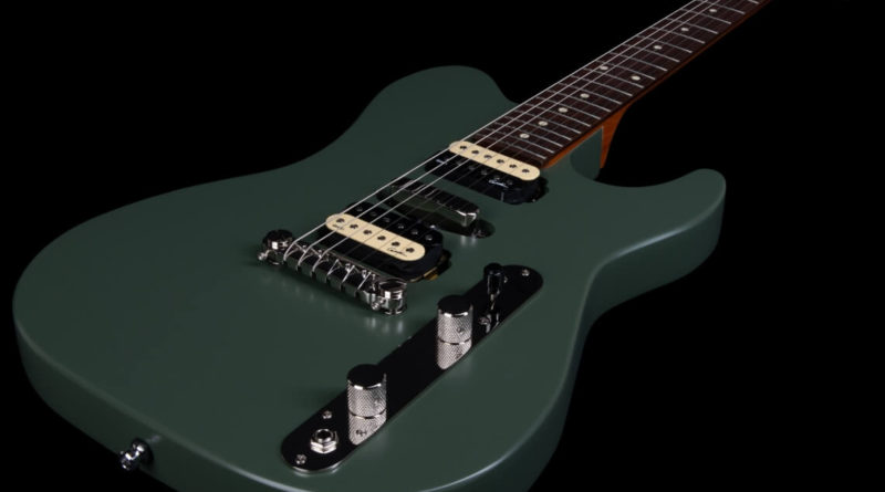 Godin Guitars Radium Matte Green, image credit: Godin Guitars