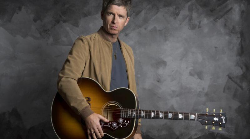Noel Gallagher Gibson J-150 Acoustic Guitar. Photo credit: Jill Furmanovsky