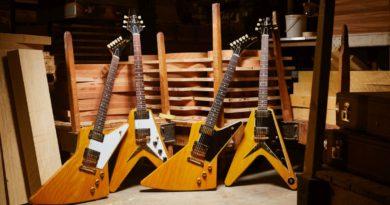 Korina Core - Custom Shop, photo: Gibson Brands
