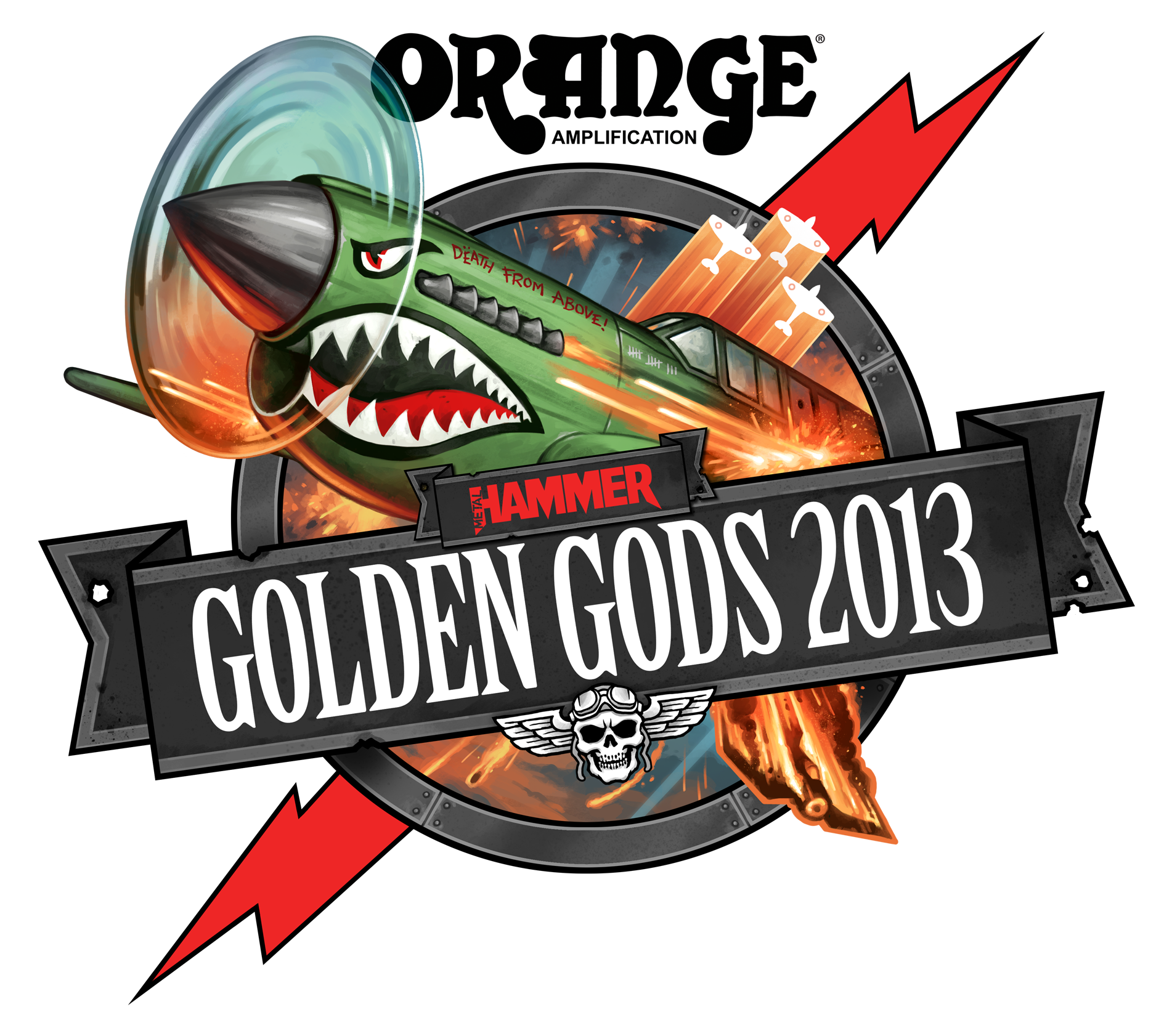 2013 Golden Gods logo