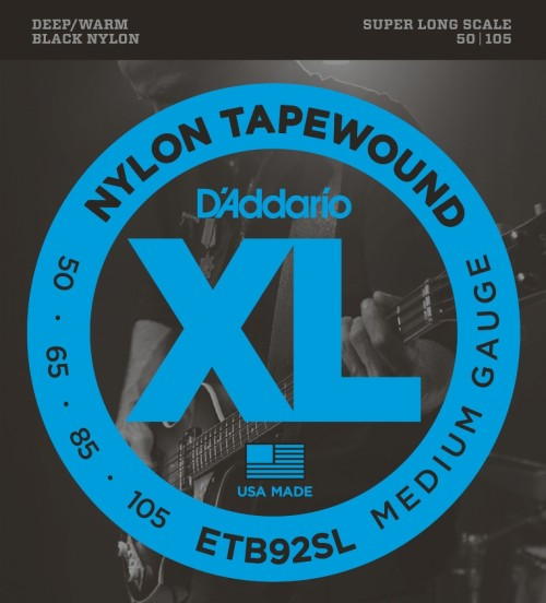 Daddario XL Bass Nylon Tapewound Medium