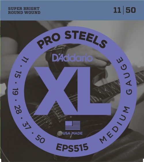 XL Guitar ProSteel Strings-Medium Gauge EPS515