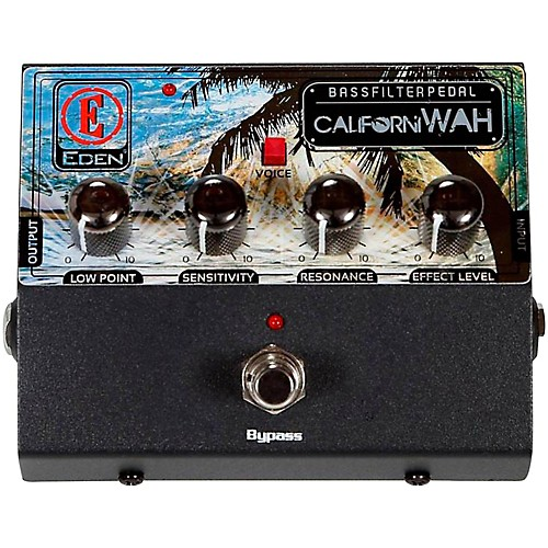 Eden CaliforniWah Bass Filter Pedal