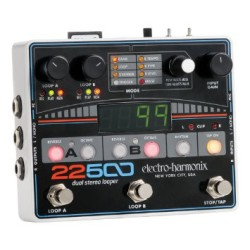 Watch JJ Demo the 22500 Dual Stereo Looper