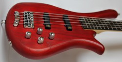 Warwick RB Fortress 5 Red OFC bass guitar reviewed by TopGuitar magazine