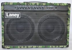 Laney LX120RT Camo electric guitar amplifier reviewed by TopGuitar magazine