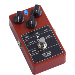 Free The Tone MS SOV-2V guitar effect pedal reviewed in TopGuitar magazine