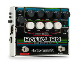 Electro-Harmonix Introduces The Battalion Bass Preamp and DI